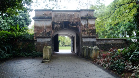 Fort Canning Trails