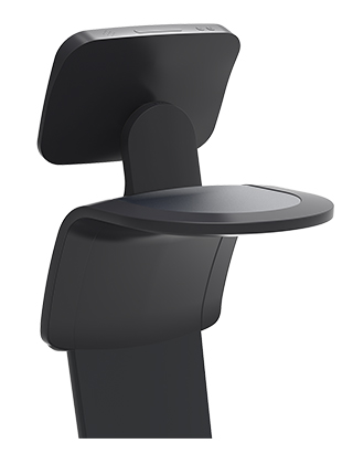 lorabots-temi-personal-AI-assistant-robot-in-black-tray-holder