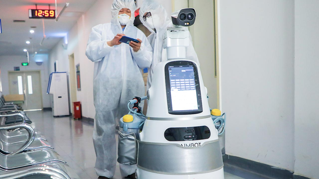 lorabots-aimbot-multi-purpose-multi-roles-robot-category-image-singapore-china-hopsitals-application-fight-covid-19-coronavirus-epidemic-prevention-measures